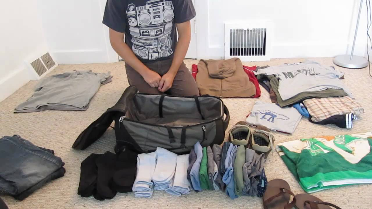 Packing for Men 101 Part 4